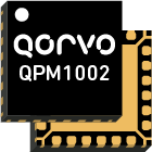 Qorvo QPM1002, an ultra-compact, GaN front-end module (FEM) for X-band radar