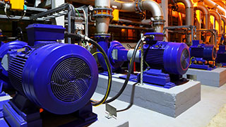 Electric motors in the factory: The workhorses of industry today